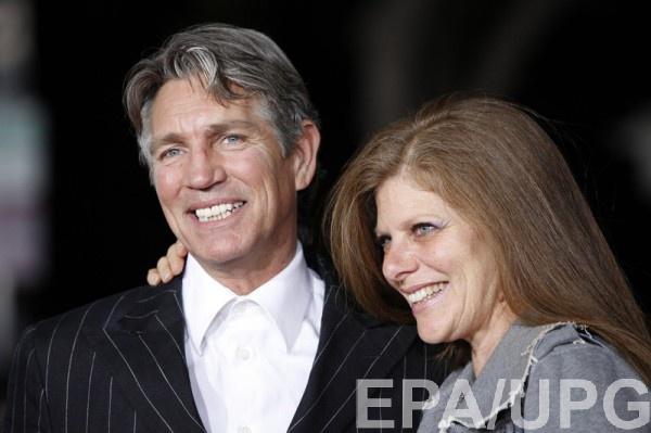 Эрик Робертс с женой