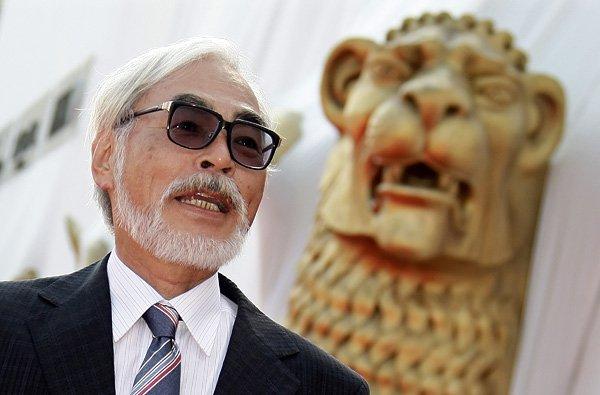 Японский режиссер и мастер анимации Хаяо Миядзаки