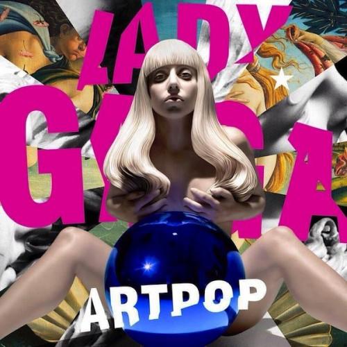 Обложка нового альбома Леди Гага, получившего название ARTPOP