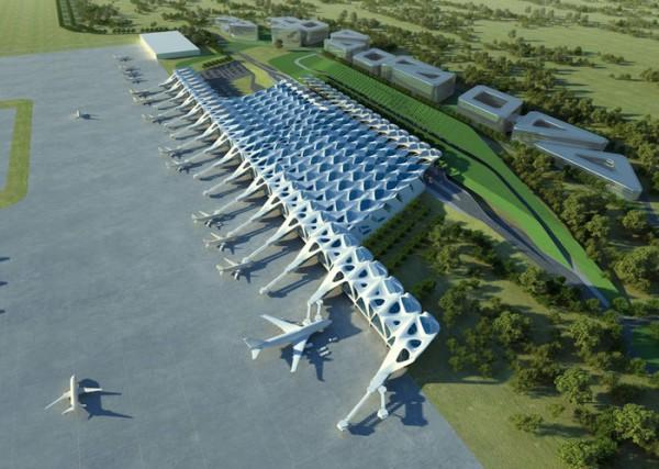Проект нового аэропорта в Лондоне от Бюро Захи Хадид