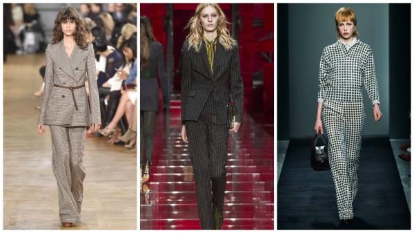 Слева направо: Chloe, Versace, Bottega Veneta