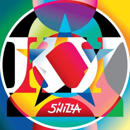 Обложка альбома 5'NIZZA под названием КУ