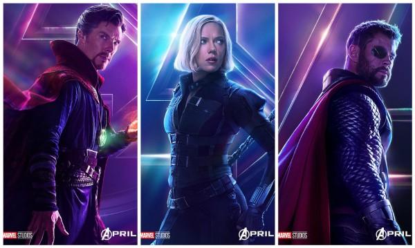 Marvel выпустил новые постеры