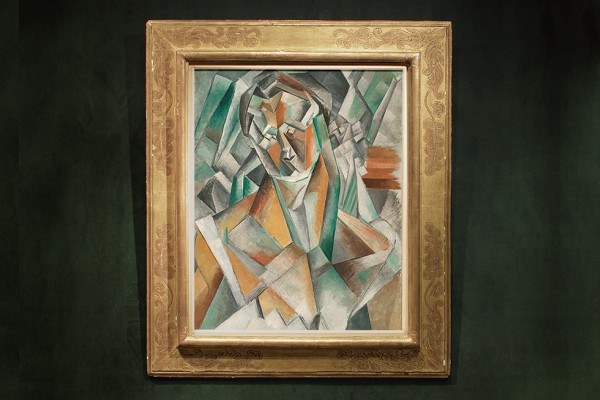 Пабло Пикассо, Сидящая женщина (Femme Assise)