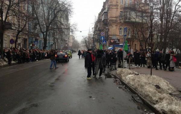 В Киеве снимают сериал