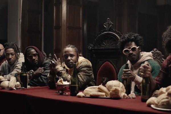 Клип Кендрика Ламара на песню Humble стал лучшим музыкальным видео этого года.
