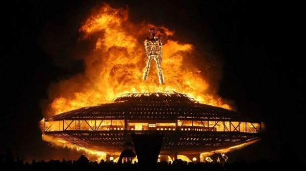 Как прошел фестиваль Burning Man 2017