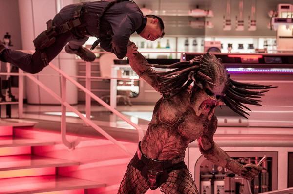 Кадр из фильма Хищник.