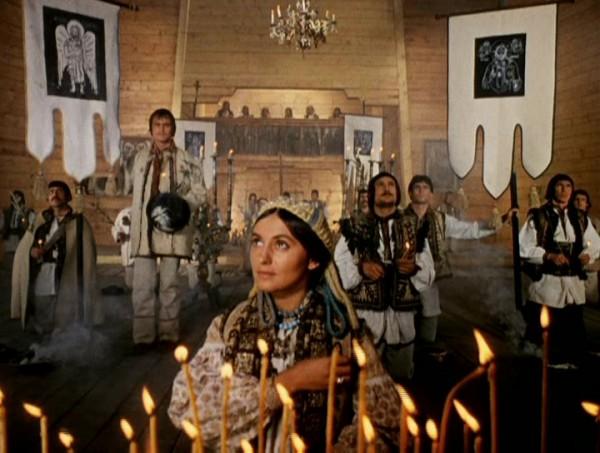 Сергей Параджанов, кадр из фильма Тени забытых предков