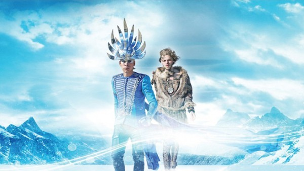Empire of the Sun ����������� ����� Alive, ������� ������ � ������� ������ Ice on the Dune