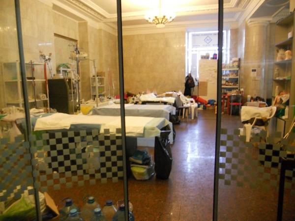 Госпиталь внутри Главпочтамта.