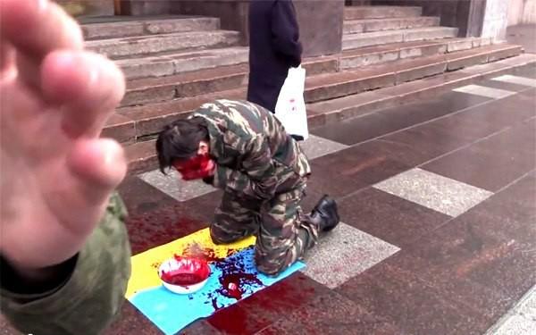 Активист арт-движения Синий всадник