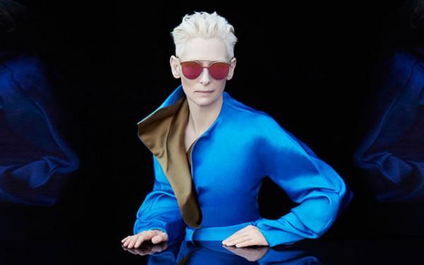 Тильда Суинтон стала дизайнером солнцезащитных очков