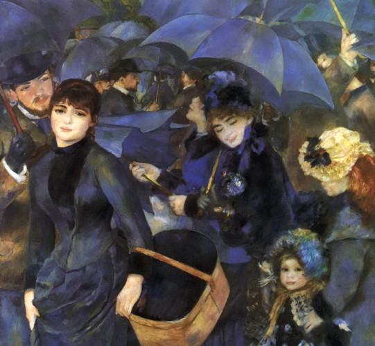 Огюст Ренуар. Зонтики (1881)