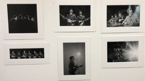Фотографии The Beatles во время первого тура в США