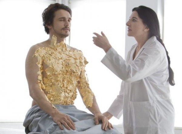 Марина Абрамович сделает из известного актера божество