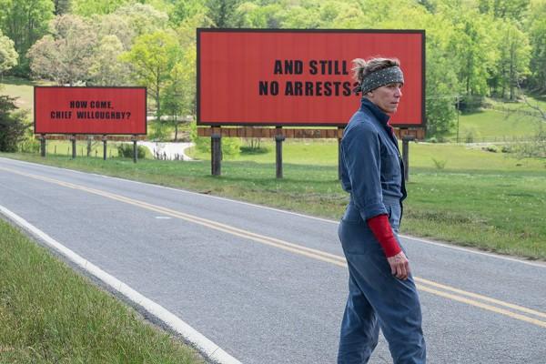 Три билборда на границе Эббинга, Миисури главный претендент на победу, как лучший фильм