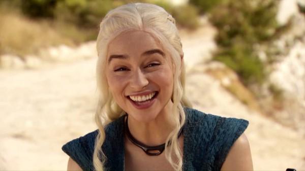 Эмилия Кларк исполнила роль Королевы драконов.