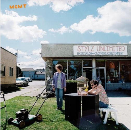Обложка нового альбома группы MGMT