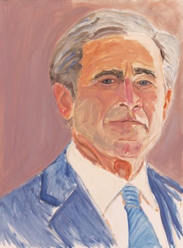 Автопортрет Джорджа Буша