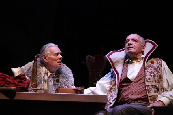 Самая большая маленькая драма - спектакль об актерах и сцене. Фото предоставлено PR-компанией Дель Арте