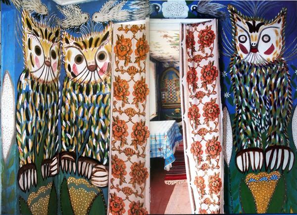 Фрагмент интерьера Дома Полины Райко. Фото с сайта sinergidom.ru