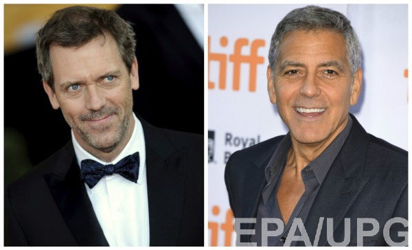 Хью Лори и Джордж Клуни снимутся в сериале