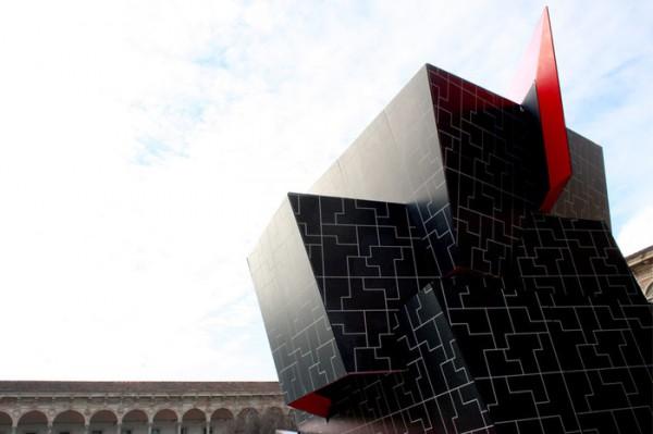 Новая инсталяция гениального Дэниела Либескинда называется Beyond The Wall