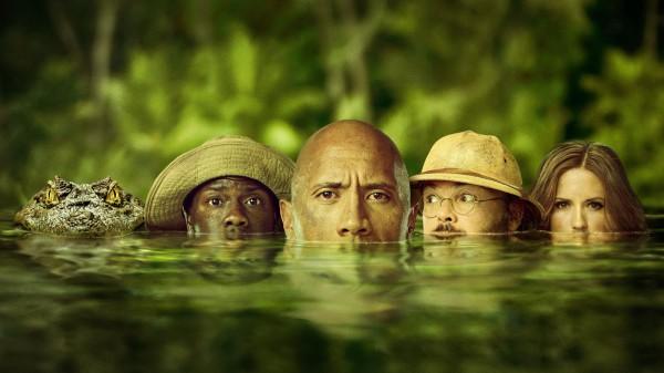 Дуэйн Джонсон идет на Зов джунглей.