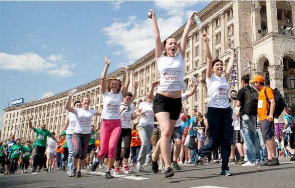 Пробег под каштанами 2013 стартует в Киеве 26 мая