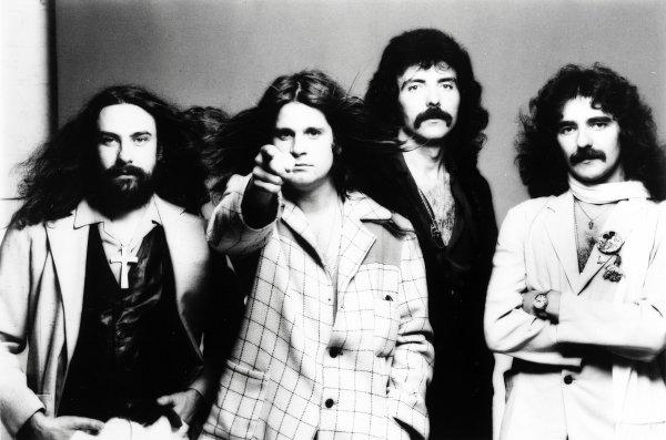 Первоначальный состав Black Sabbath в 1970-тых.