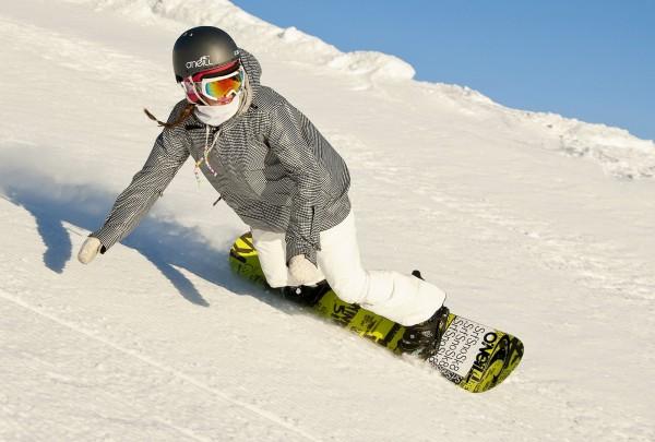 Ловите момент пока в Киеве есть снег и идите кататься на сноуборде