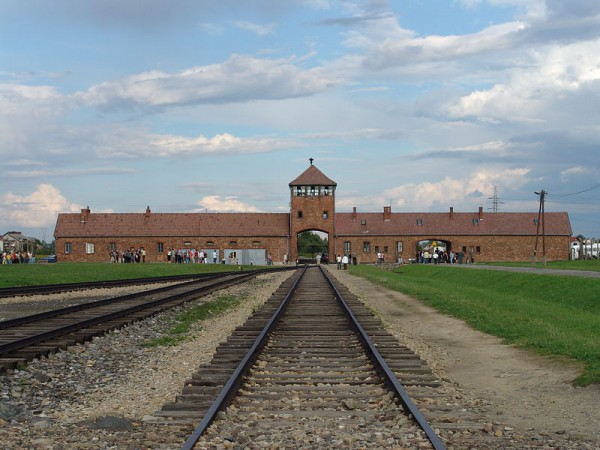 Ворота Биркенау (Аушвиц ІІ) -