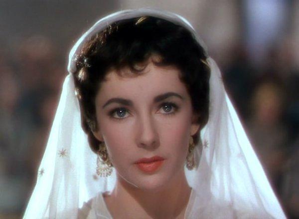 Элизабет Тейлор в роли леди Ровены, 1952 г.