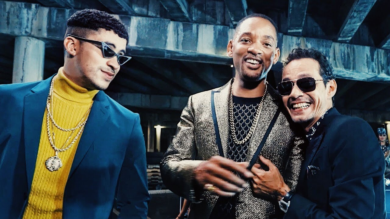 Marc Anthony, Will Smith, Bad Bunny
