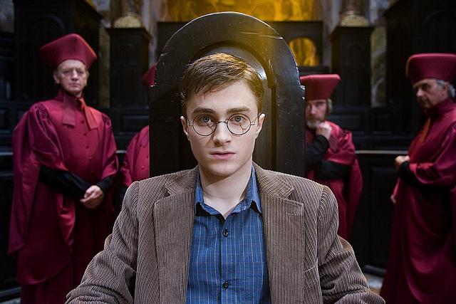 Рэдклифф в роли Гарри Поттера