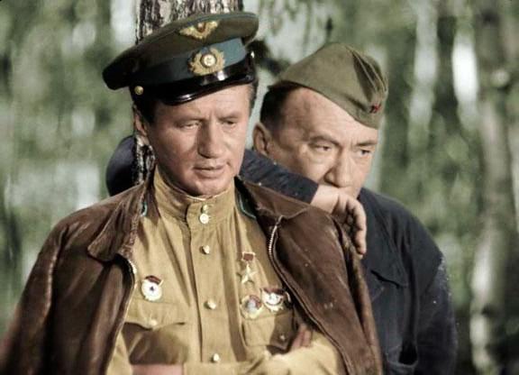 Леонид Быков и Алексей Смирнов