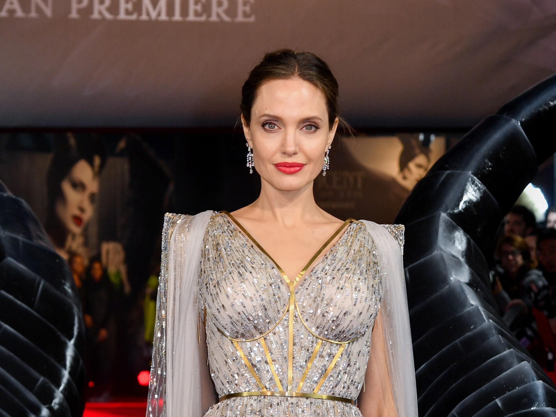 Анджелина Джоли исполняет главную роль в Вечных