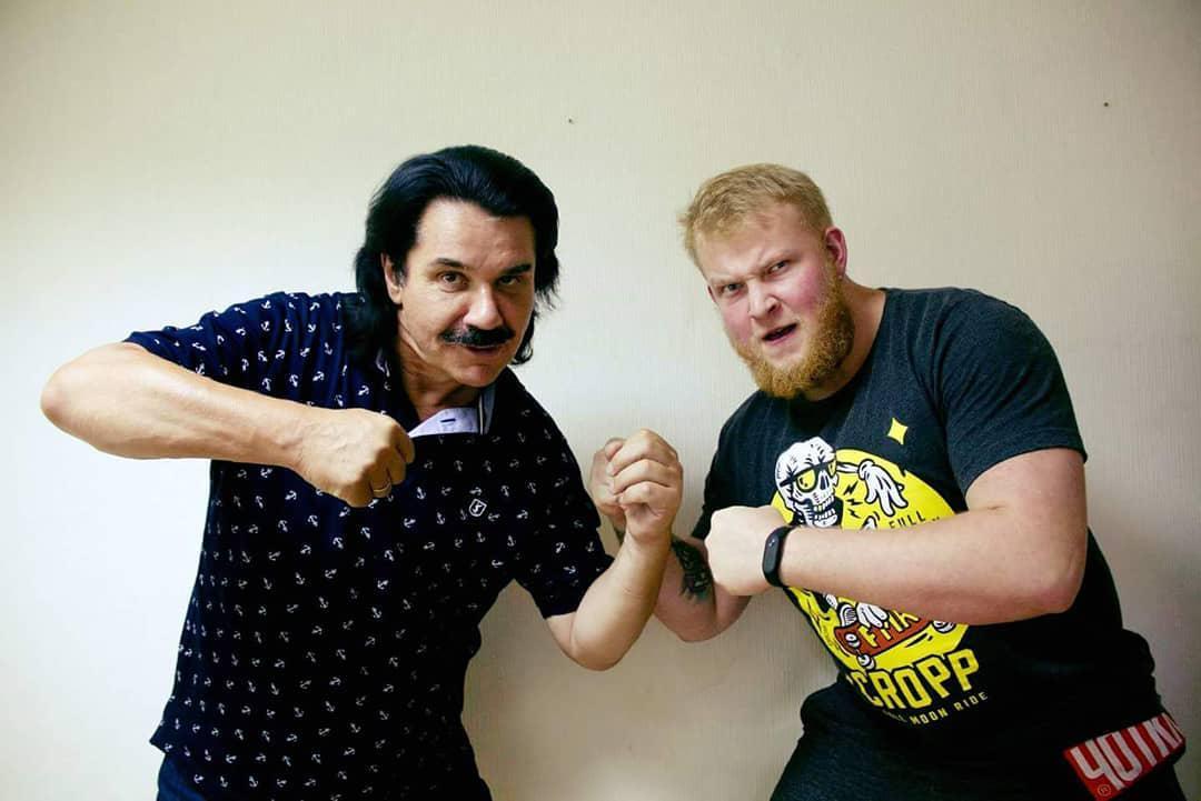 Павел Зибров и Чоткий Паца