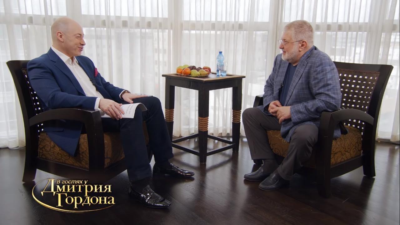 Новый выпуск В гостях у Дмитрия Гордона