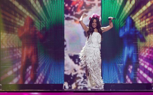 Гайтана выступала на Евровидении 2012