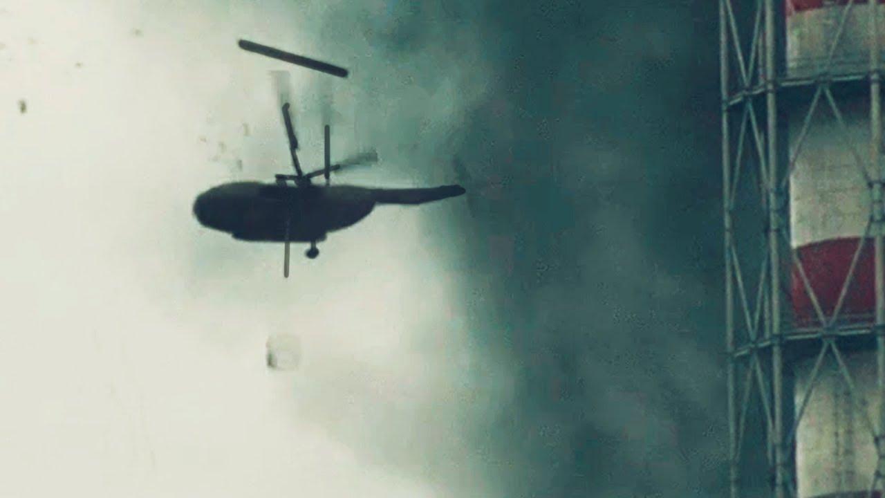 Падение вертолета