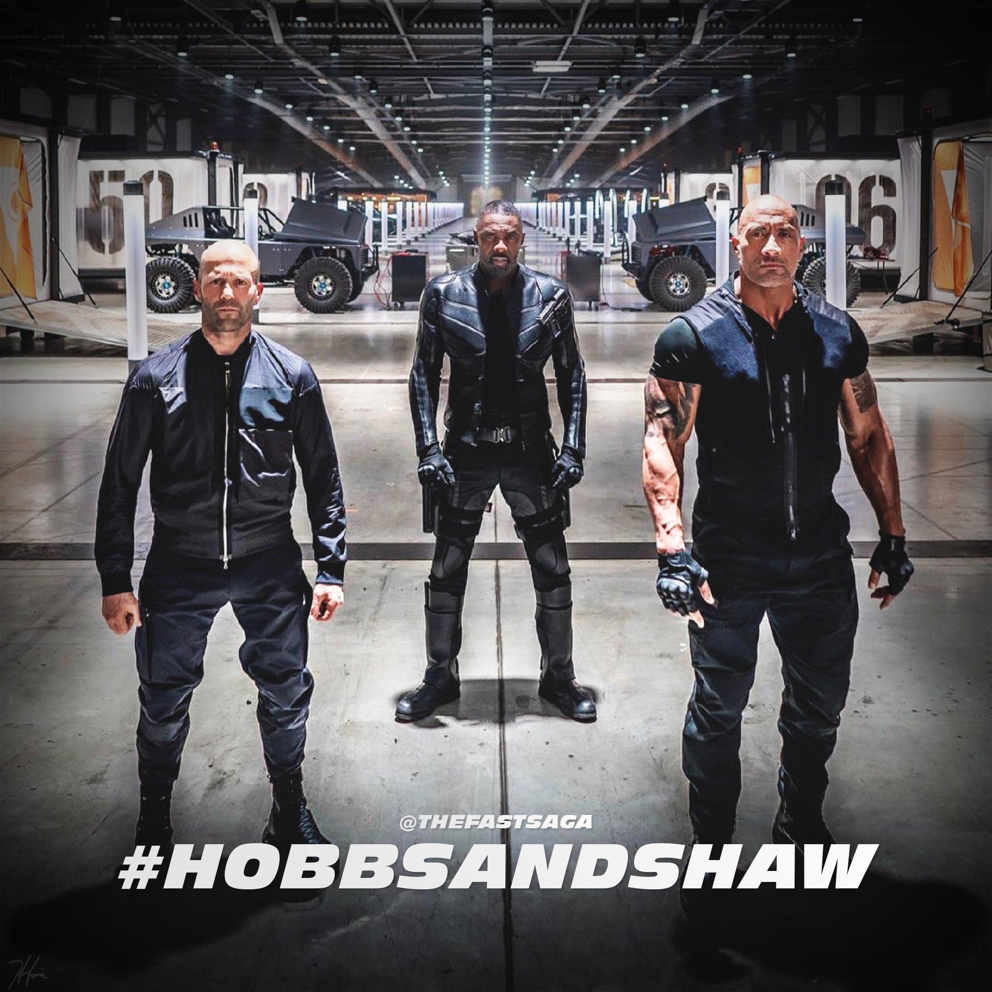 Новый кадр Хоббс и Шоу