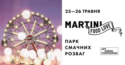 Martini food love