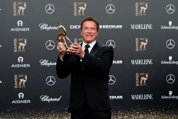 Арнольд Шварценеггер получил премию Bambi