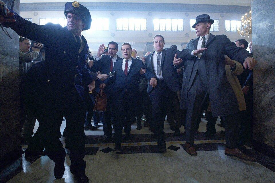 Официальный кадр из фильма Ирландец