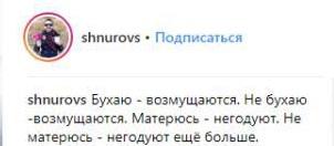 Комментарий Шнурова