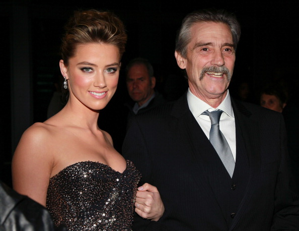 Эмбер Херд с отцом