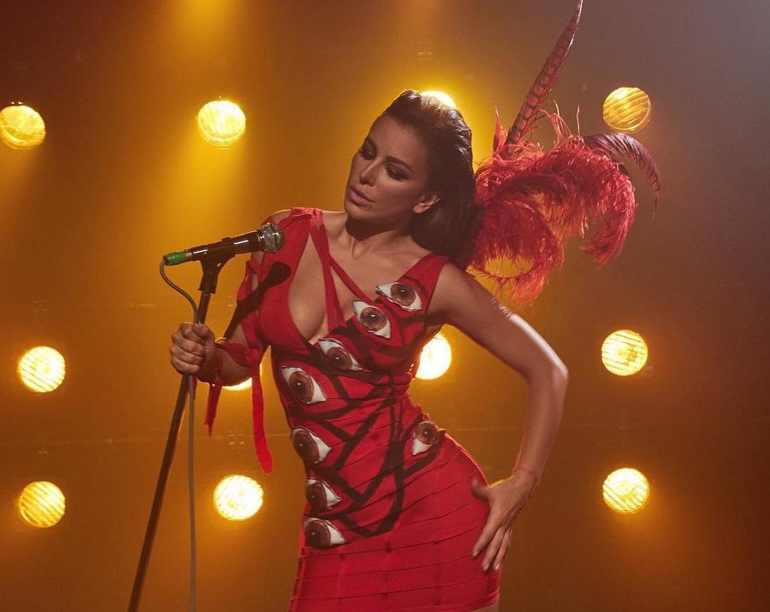 Ани Лорак снялась в музыкальном видео