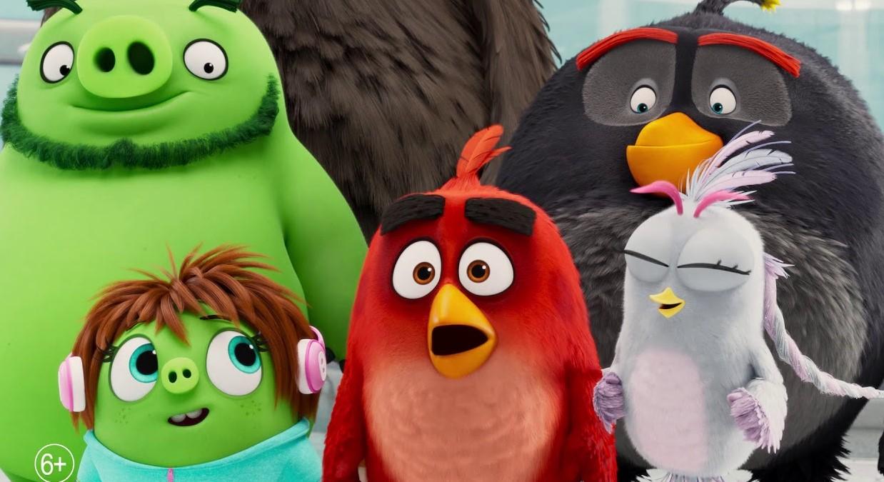 Вышел новый трейлер Angry Birds в кино 2